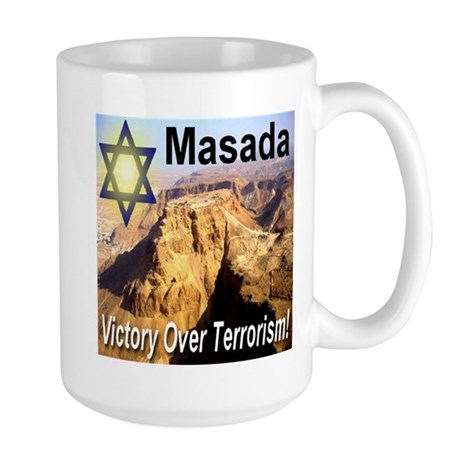 Masada Victory Over Terrorism Large Mug