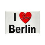 I Love Berlin Rectangle Magnet (10 pack)