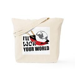 I'll Wok Your World Tote Bag