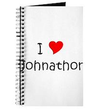 Cool Johnathon name Journal