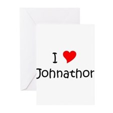 Funny Johnathon name Greeting Cards (Pk of 20)