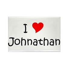 Johnathan Rectangle Magnet