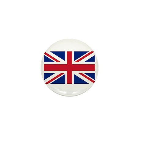 Union Jack Mini Button (10 pack)