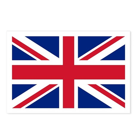 Union Jack Postcards (Package of 8)