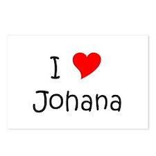 Johana Postcards (Package of 8)