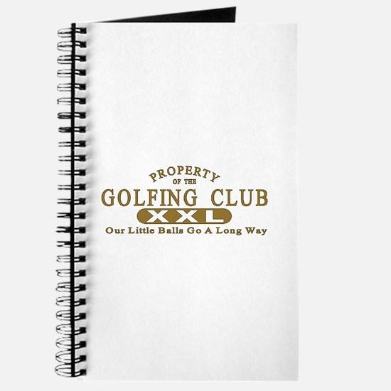 Golfing Club Journal
