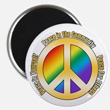 Peace In Yourself Magnet