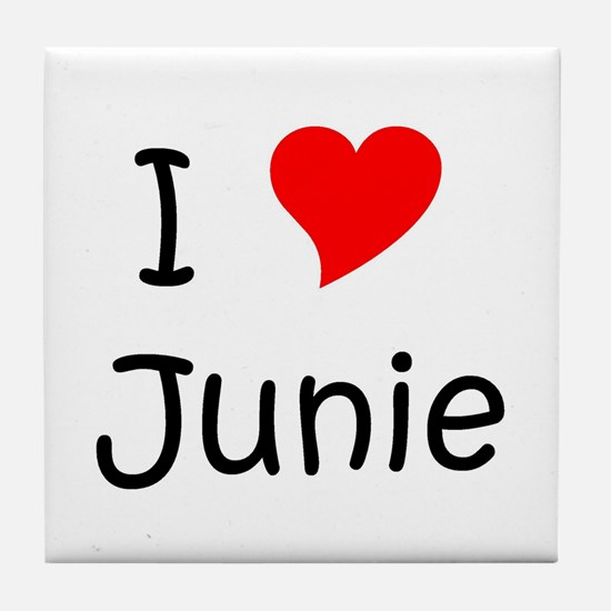 Cool Junie Tile Coaster
