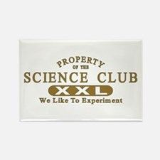 Science Club Rectangle Magnet