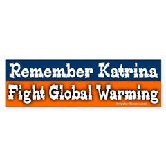 Remember Katrina Bumper Bumper Sticker