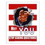 Hey YOU! Small Poster