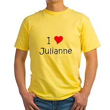 Cute I love juliann T