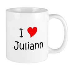 Cute I love juliann Mug