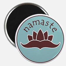 Lotus Namaste Magnet