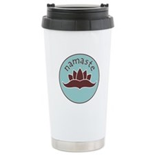 Lotus Namaste Travel Mug