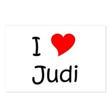 Cool Judi Postcards (Package of 8)