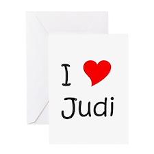Cool Judi Greeting Card