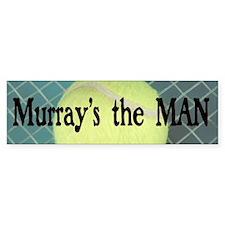 Murray's the MAN Bumper Car Sticker