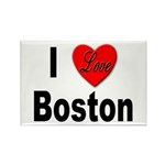 I Love Boston Rectangle Magnet (10 pack)
