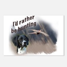 Hunting Pointer Postcards (Package of 8)