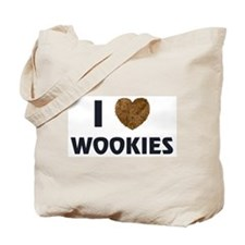 I Love Wookies Tote Bag