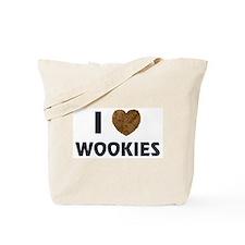 I Love Wookies Tote Bag
