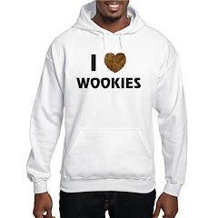I Love Wookies Hoodie