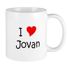 Cute I heart jovan Mug