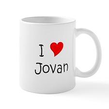 Cute I heart jovan Mug