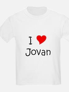 Cute I heart jovan T-Shirt