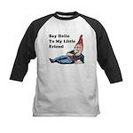 Say Hello To My Little Friend Kids Baseball Jersey