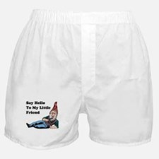Say Hello To My Little Friend Boxer Shorts