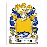 Mancuso Family Crest Small Poster