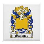 Mancuso Family Crest Tile Coaster