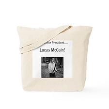 Lucas McCain for President Tote Bag