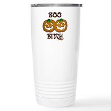 Boo Bitch Halloween Travel Mug