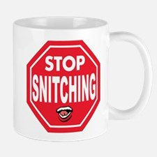 Zip It and Stop Snitching Mug