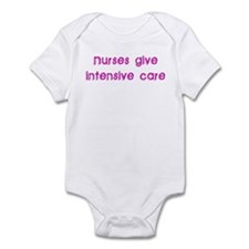 Nurses Give Intensive Care Infant Bodysuit