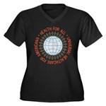 Universal HealthCare Plus V-Neck T-Shirt (Dark)