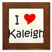 Cool Kaleigh Framed Tile