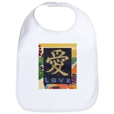 Love in Chinese Bib