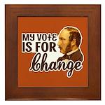 Vote Change Tile (Framed)