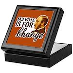 Vote Change Keepsake Box