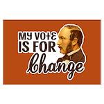 Vote Change Poster (Large)