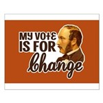 Vote Change Poster (Small)