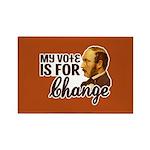 Vote Change Rectangle Magnets (100 pk)