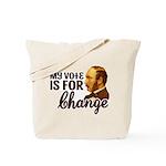 Vote Change Tote Bag