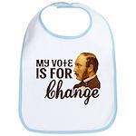 Vote Change Baby Bib