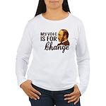 Vote Change Women's Long Sleeve T-Shirt