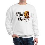 Vote Change Sweatshirt